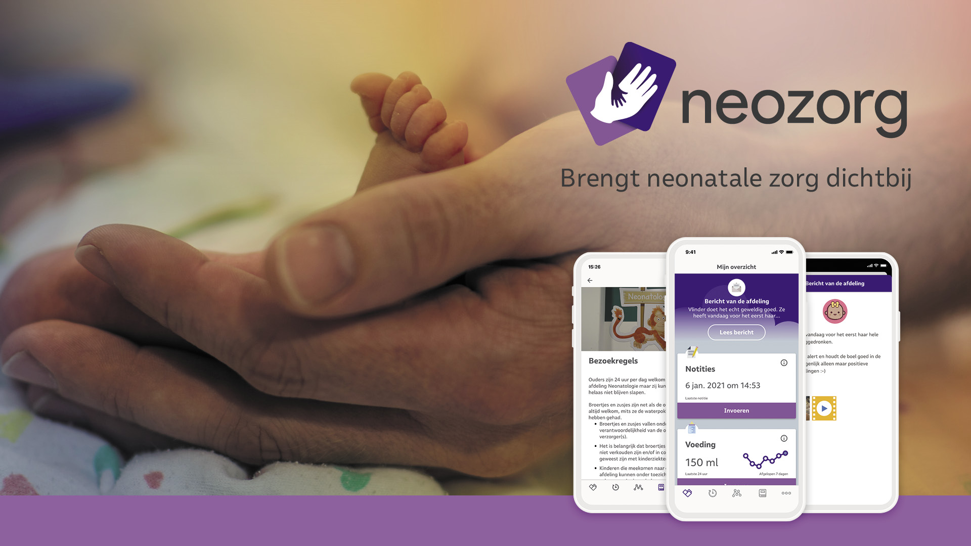 Verbonden Met Jouw Te Vroeg Geboren Baby Dankzij De NeoZorg App